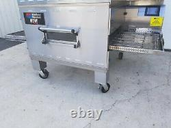 2013 Middleby Marshall WOW PS640G Double Deck Conveyor Pizza Oven Belt Width 32
