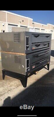 2016 Marsal SD-660 STACKED Gas Deck Type Pizza Oven