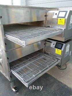 2016 Middleby Marshall WOW PS640G Double Deck Conveyor Pizza Oven Belt Width 32