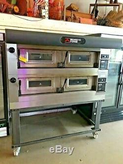 2018 Moretti Forni Double Deck Electric Pizza Oven P120c Very Nice