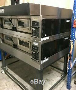 2019 Moretti Forni Double Deck Electric Pizza Oven P120c Beautiful Shape