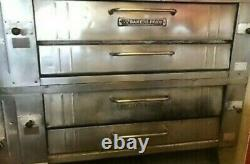 6 Pies Pizza Oven Bakers Pride Gas Double Deck Model Y600