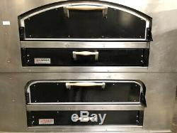 80 Pizza Ovens Double Stack Deck Bake Stainless Steel Marsal & Sons MB-60 #2000