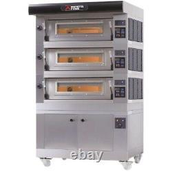 AMPTO AMALFI D3 Electric Deck-Type Pizza Bake Oven