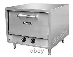 Adcraft PO-22 Stackable Countertop Pizza Oven With 2 -22in Stone Decks
