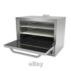 Asber AEPO-24 S 24 Single Chamber Gas Deck Countertop Pizza Oven