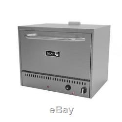 Asber AEPO-36 36 Single Chamber Gas 2 Deck Countertop Pizza Oven