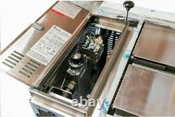 BAKERS PRIDE Restaurant Pizza Single Deck Oven 152 STUBBY 33 Depth Gas