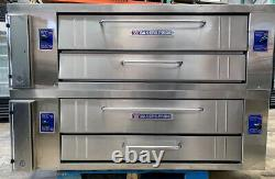 BAKERS PRIDE Y600 Pizza Oven double deck
