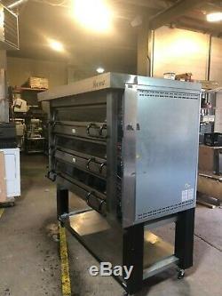 BEAUTIFUL! 2014! Revent PM743ED Stone Deck Hearth Bread Pizza Flatbread Oven