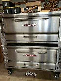 BLODGETT 1048 Natural Gas Commercial Deck Pizza Oven # 1048 High Volume