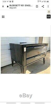 BLODGETT 951 SINGLE DECK PIZZA OVEN BAKERY OVEN/with stones