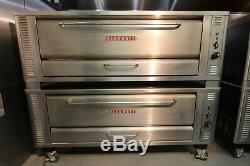 BLODGETT Double Pizza Deck Oven & Draft Diverter Natural Gas 170,000 BTU