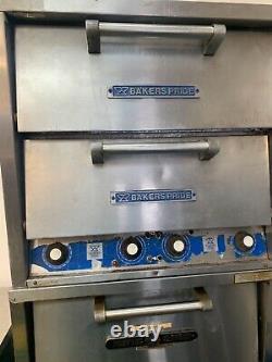 Baker Pride Double Deck Pizza Oven
