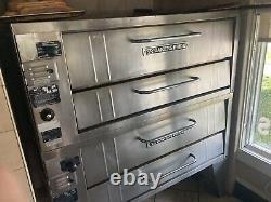 Baker's Pride Deck Pizza Oven Double Stack Model 351