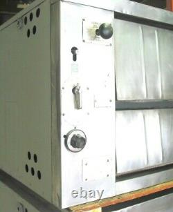 Bakers Pride 451 Natural Deck Gas Double Pizza Ovens New Stones