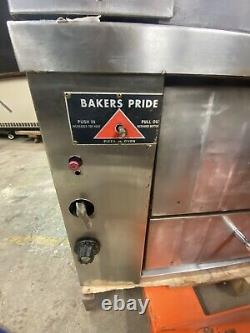 Bakers Pride Double Deck Pizza Oven
