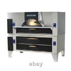 Bakers Pride FC-616/Y-600 Il Forno Classico Gas Pizza Oven with Stacked Deck Oven