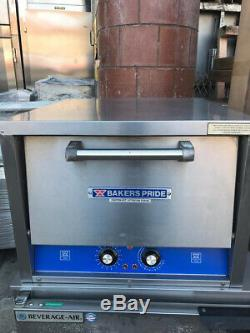 Bakers Pride P-18S Electric Countertop Pizza / Deck Oven 120 1PH #1880