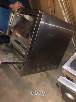 Bakers Pride P44s Countertop Pizza/Pretzel Oven Double Deck, 208V, 3 Phase