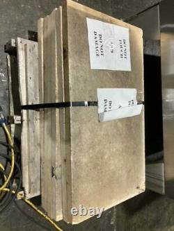 Bakers Pride Y-600 Double Stack Natural Gas Pizza Deck Oven