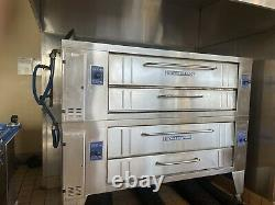 Bakers Pride Y-600s / Y-602 High Capacity Stone Deck Pizza Oven, Current Model