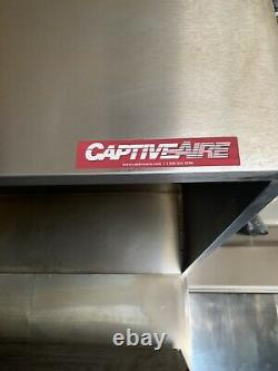 Bakers Pride deck pizza ovens hood Captive-Air