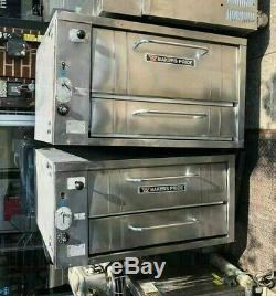 Bakers Pride pizza oven 252 Double Pizza Deck Oven refurbish in excellent #1824