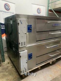 Bakers pride Y-802 double deck gas pizza oven
