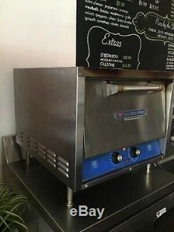 Bakers pride electric pizza oven double deck