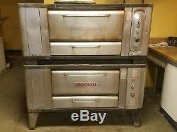 Blodgett 1000 Gas Stone Deck Pizza Oven Baking Bread Ovens