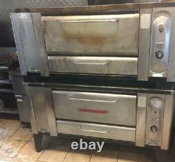 Blodgett 1000S Natural Gas Double Pizza Oven Rokite stone deck pick up 31533