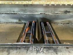 Blodgett 1060 Double Deck Pizza Oven new burner and steel deck TESTED