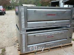 Blodgett 1060 Double Natural Deck Gas Double Pizza Oven With New Stones