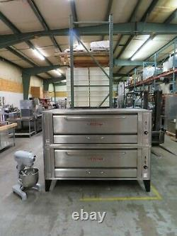 Blodgett 1060 Double Pizza Deck Oven, Natural Gas