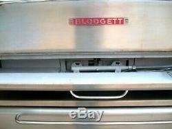 Blodgett 1060 Single Natural Deck Gas Double Pizza Oven With New Stones