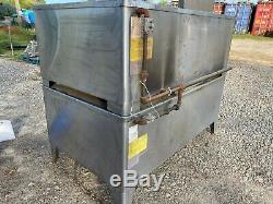 Blodgett 1060B-S Commercial Floor Double Deck Stack Natural Gas Pizza Oven