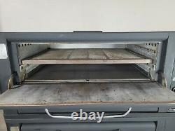 Blodgett 951 Double Bakery Deck Pizza Oven with Shelves Commercial
