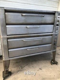 Blodgett 951 Double Deck Pizza Oven Bakery Oven With Stones