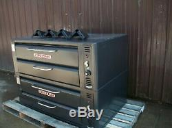 Blodgett 961 Natural Deck Gas Double Pizza Oven With New Stones