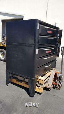 Blodgett 981+ 961 D/B Stack 3 Deck 2 Stones Pizza Baking Gas Pizza Oven 650'f