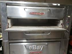 Blodgett 981 & 966 Gas Deck Oven Pizza Bakery Food Truck