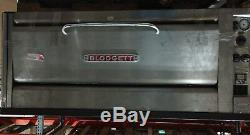 Blodgett Electric Double Deck Pizza Oven, Model 1201, Used, Shows signs of age