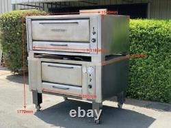 Blodgett Gas Pizza Oven 1048 BL Commercial Double Deck Natural Gas 1048BL