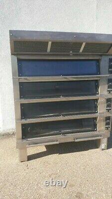 Bongard M4 Soleo 4 Deck Bakery Bread Pizza Pastry Oven