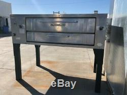 Commercial Bakers Pride Pizza Oven Single Deck