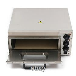 Commercial Electric Stainless Steel Pizza Toaster Pizza Oven One Deck 2kw HOT