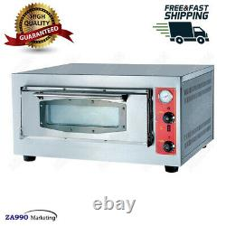 Commercial Gas Pizza Oven 1 Deck With Firestone Machine