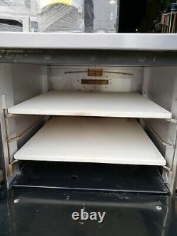 Comstock-Castle PO19 Countertop Pizza Oven Single Deck, NG #1862
