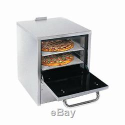 Comstock Castle PO19 Pizza Oven Counter Top Gas with Two 19 Hearth Decks